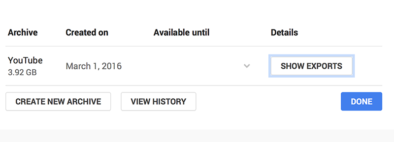 Youtube Archive