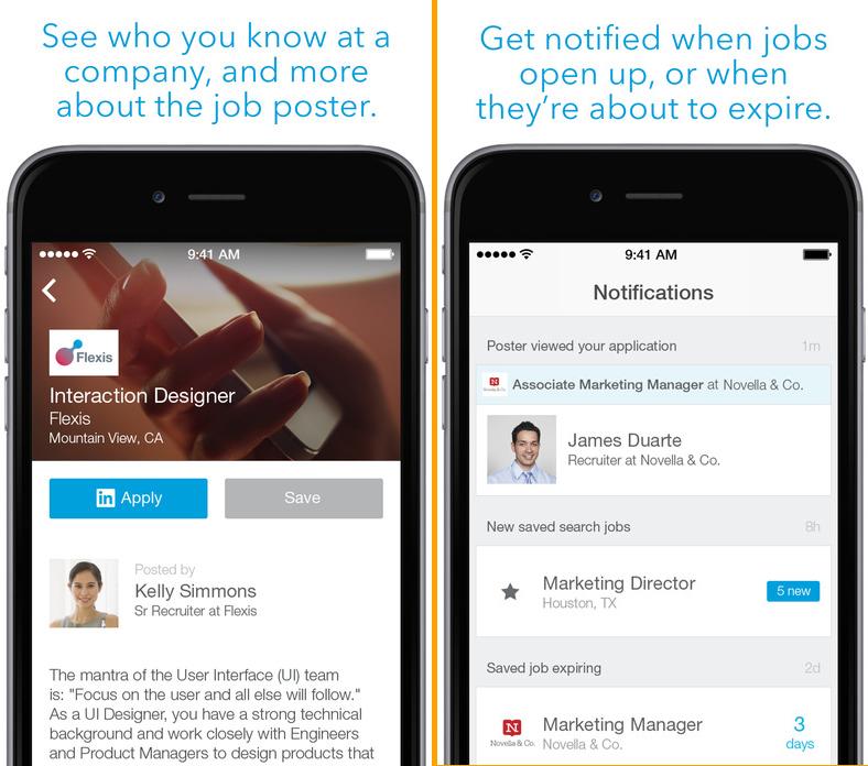 Linkedin career app